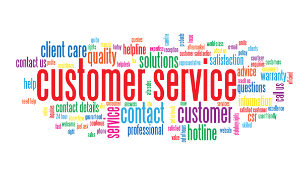Customer Service Header