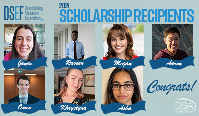2021 Scholarship Recipients 394 x 229 rv