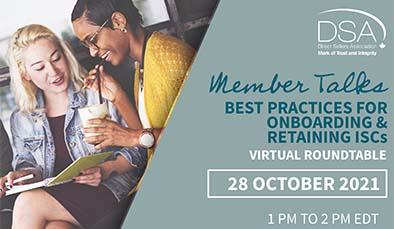Member Talks - Best Practices for Onboarding & Retaining ISCs - October 28